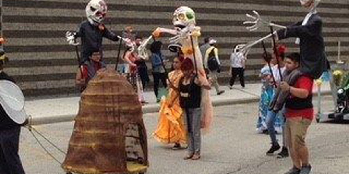 Bright costumes highlight the annual Cleveland Museum of Art parade