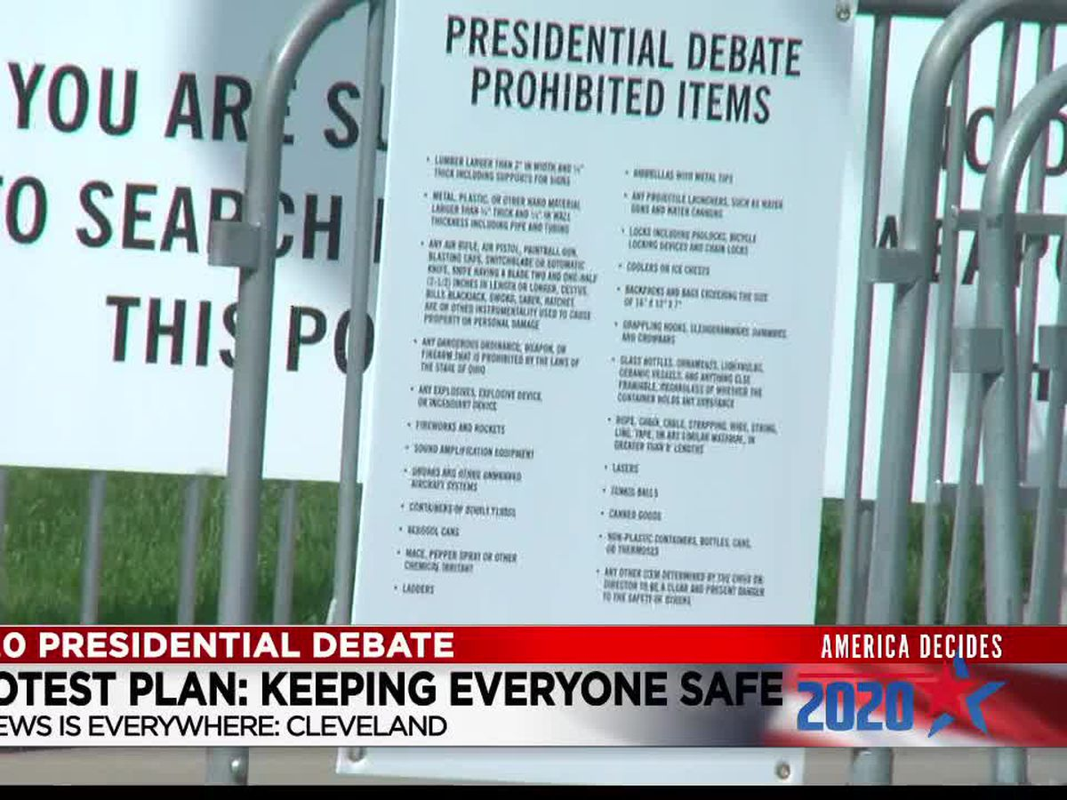 Cleveland leaders prepare for presidential debate protests, and urge public to stay calm