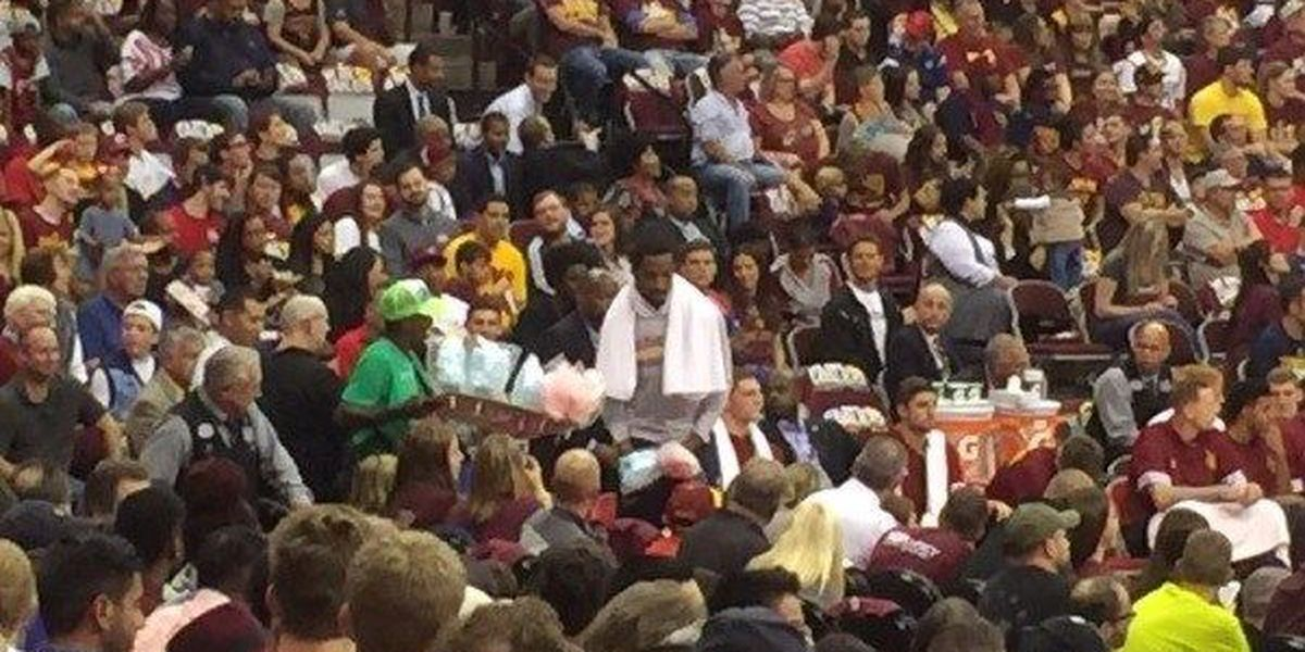 Fans hope for some star treatment as Cavs return home for 1st preseason game