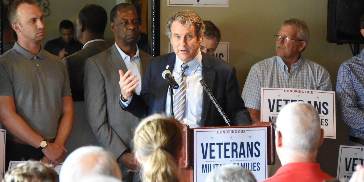 Sherrod Brown's wife says senator 'considering' presidential run