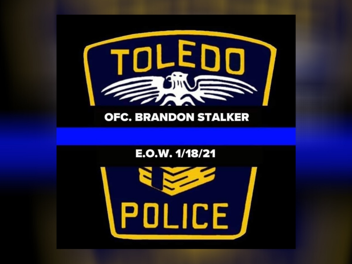 Ohio officials, police departments remember slain Toledo police officer Brandon Stalker