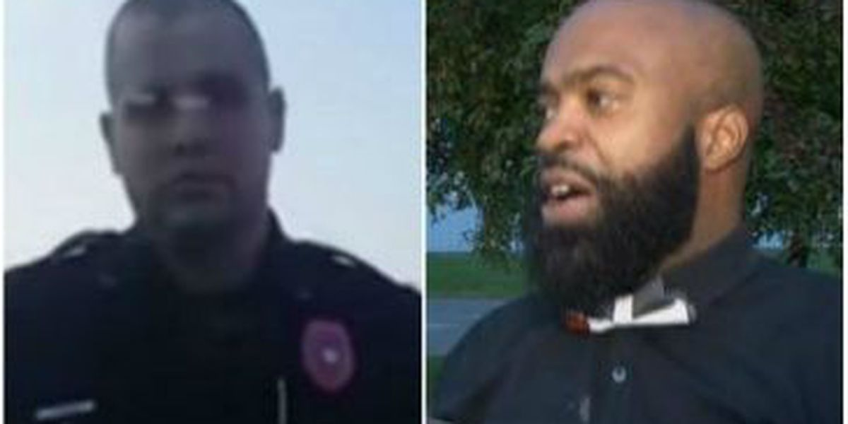 Police officer involved in controversial traffic stop placed on leave