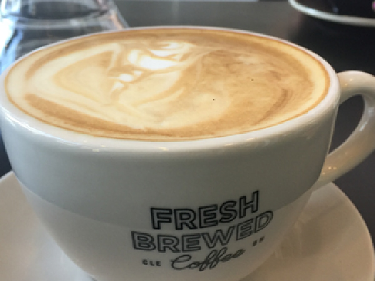 'Fresh Brewed Coffee' tempting palates in Cleveland's Ohio City