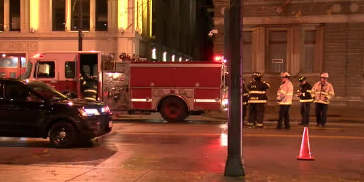 Why did the covers explode off manholes around downtown Cleveland?