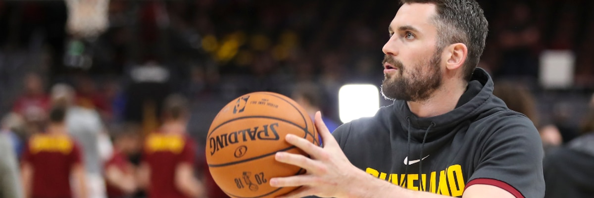 Kevin Love leading the way, on and off the court