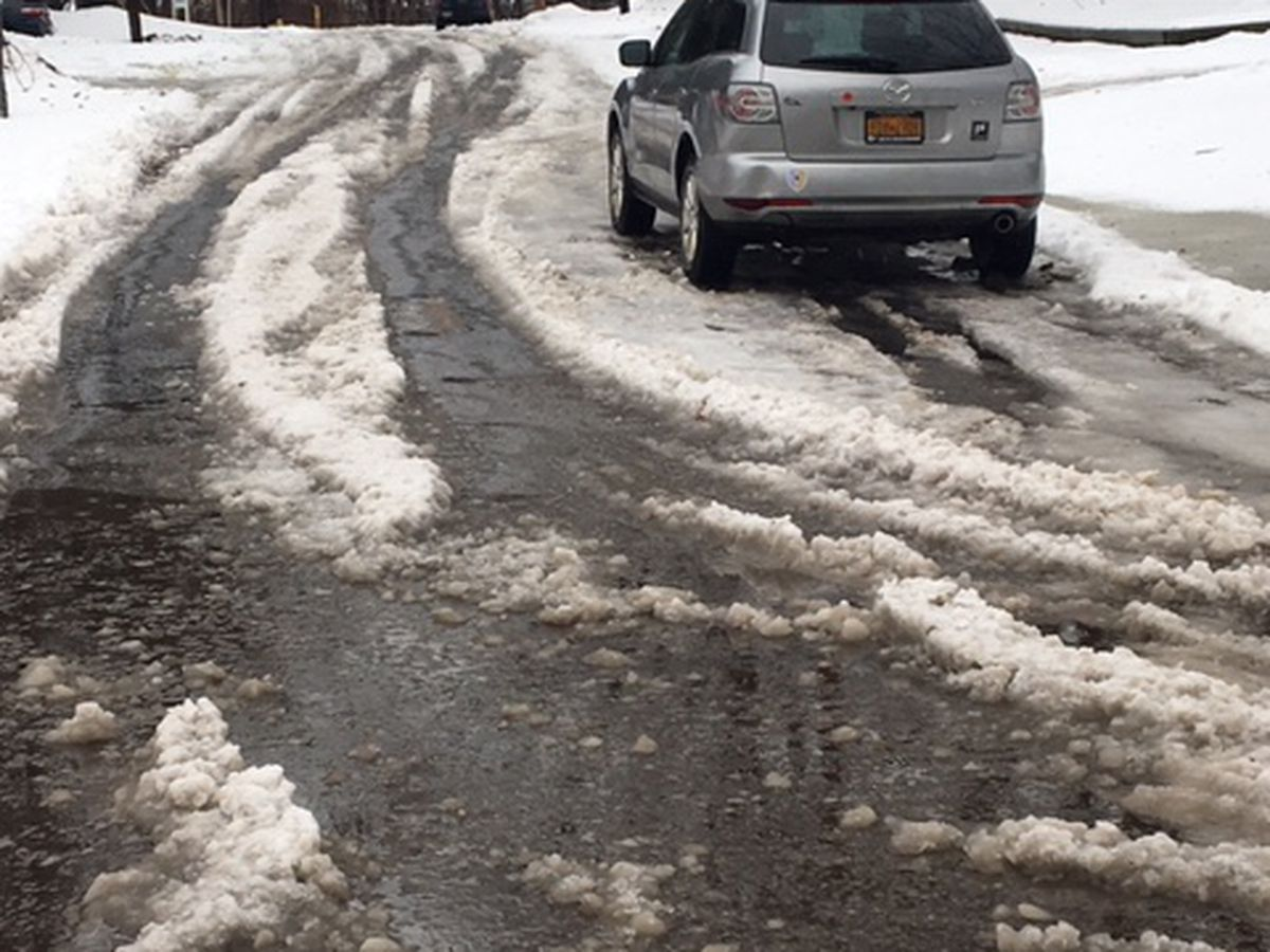 Residents buried in slush and snow for days prompts Akron to apologize for slow response time