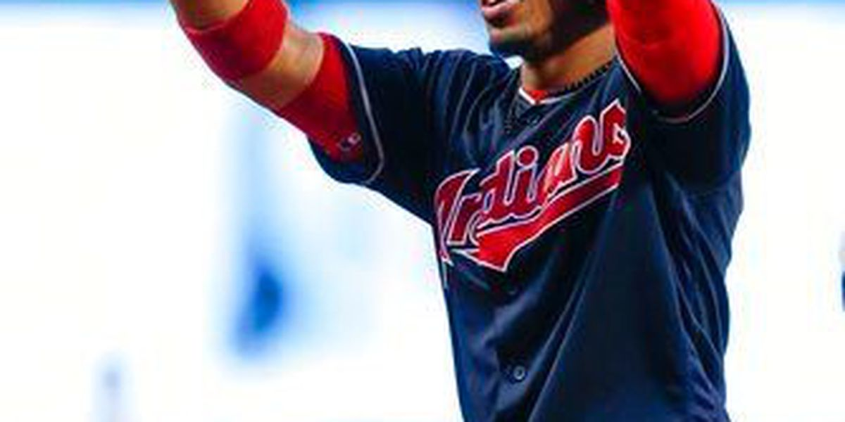 Down to his final strike, Lindor smashes RBI double to send game to extras (video)