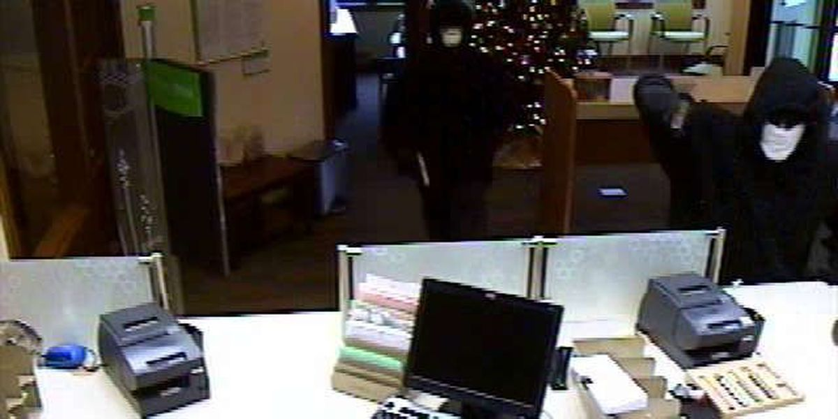 $10,000 reward to catch bank robbers
