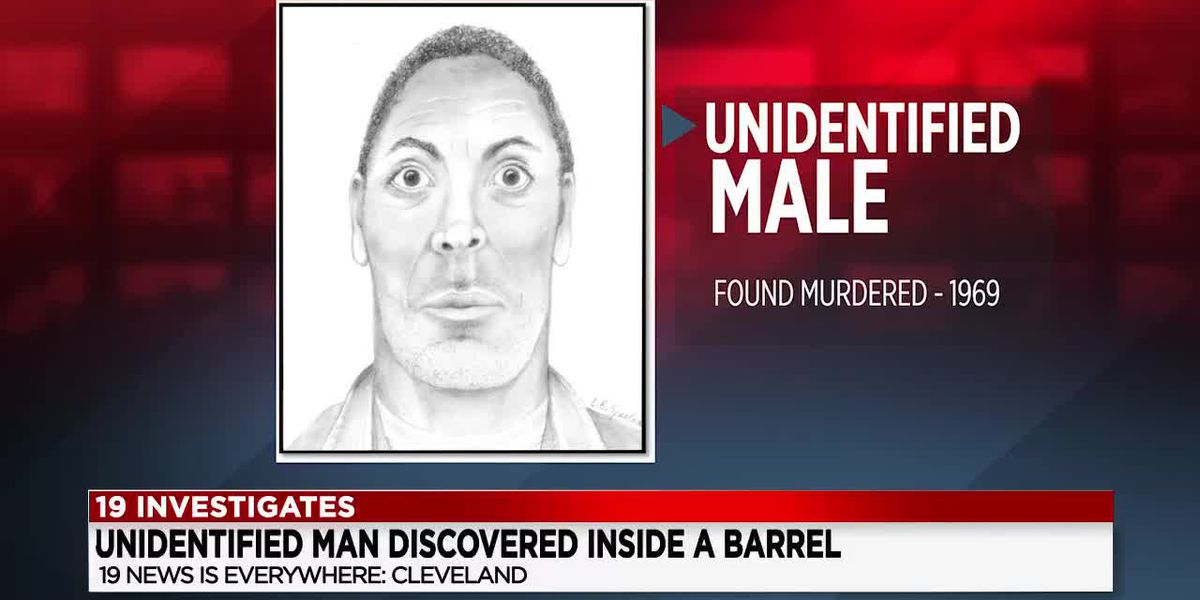 Unidentified: Who was this man found dead inside of a barrel in 1969?
