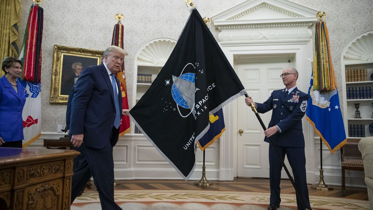 Gov. DeWine pushes President Trump to make Ohio the home of U.S. Space Command Headquarters