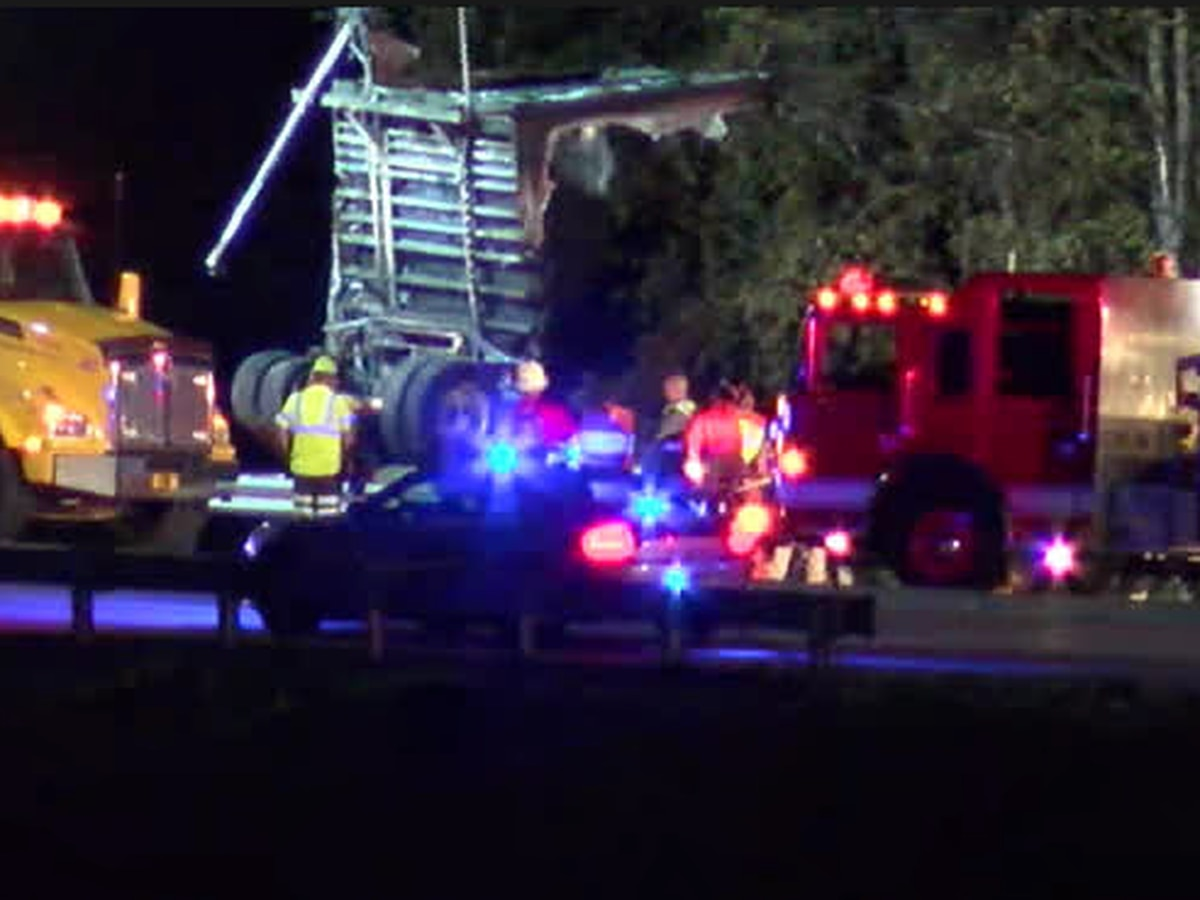 1 dead after semi crash closes entrance and exit ramps on turnpike in Lorain County (video)