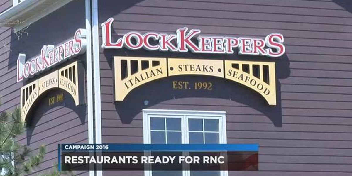 Restaurants far and wide prepare for RNC