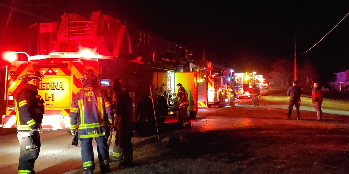 Medina fire department urges fireplace safety after chimney fire damages Montville Township home