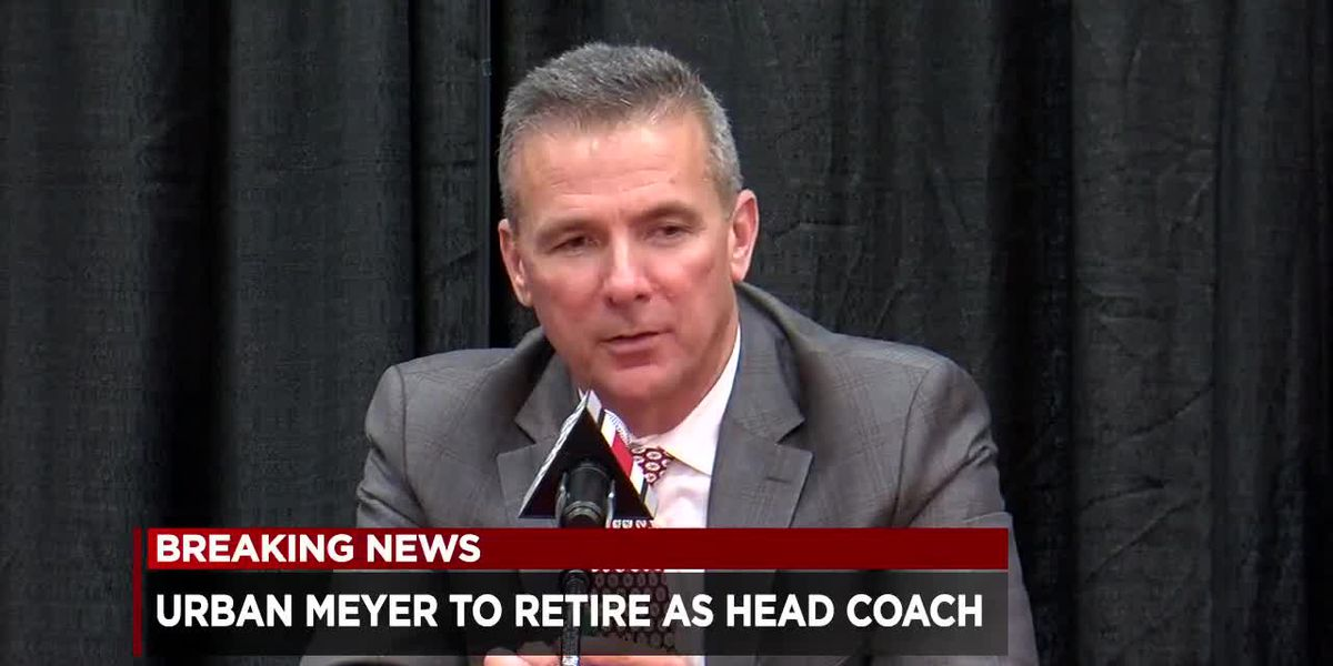 Buckeye Nation rocked over news of Urban Meyer's retirement