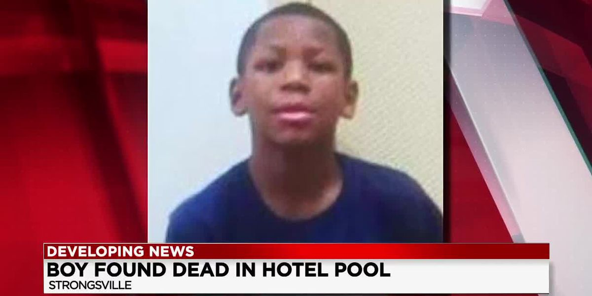 Missing East Cleveland boy found dead in Strongsville hotel swimming pool