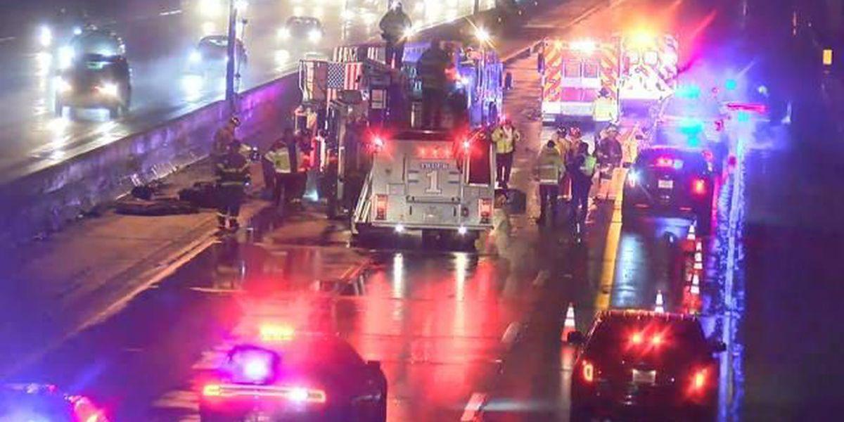 I-90: Victim identified in fatal crash involving Rocky River fire truck