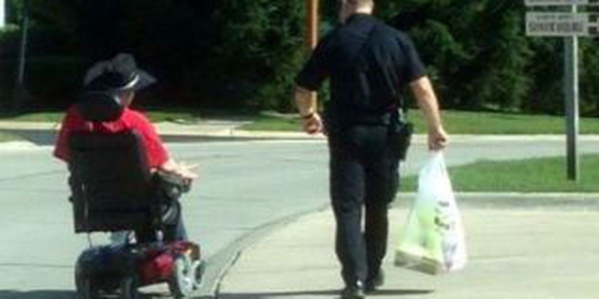 Streetsboro Police share a story of one officer's compassion