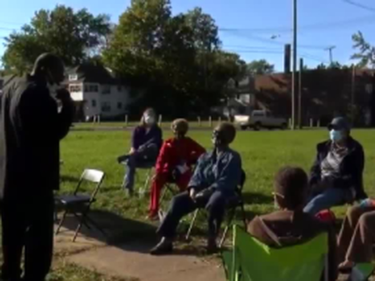 East Cleveland neighbors campout against violence