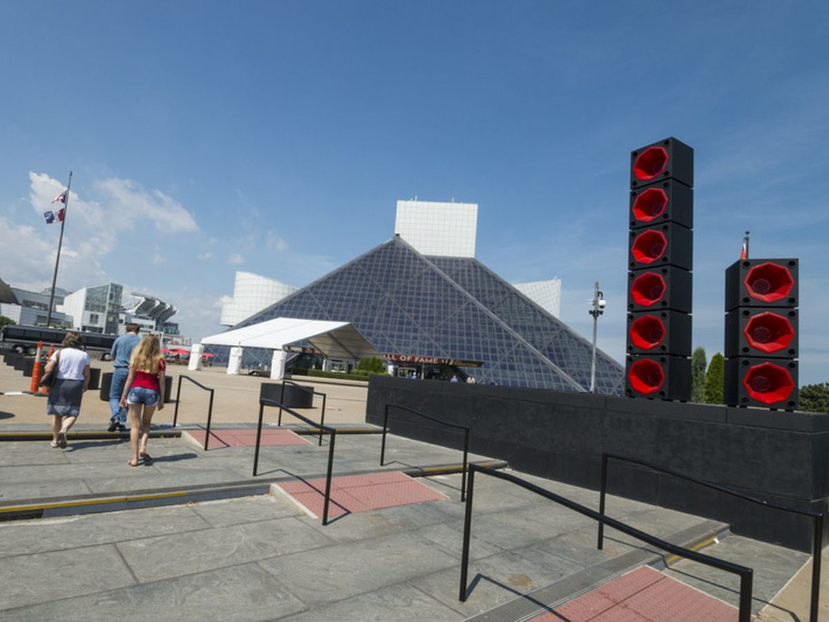 Rock Hall apologizes for music played overnight from speaker boxes throughout downtown Cleveland