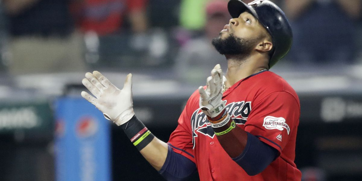 Cleveland Indians' Carlos Santana voted starting first baseman for All-Star team