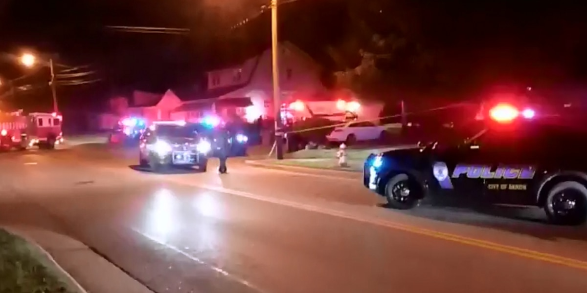 Akron Police investigating after multiple people shot near Firestone high school, 1 dead