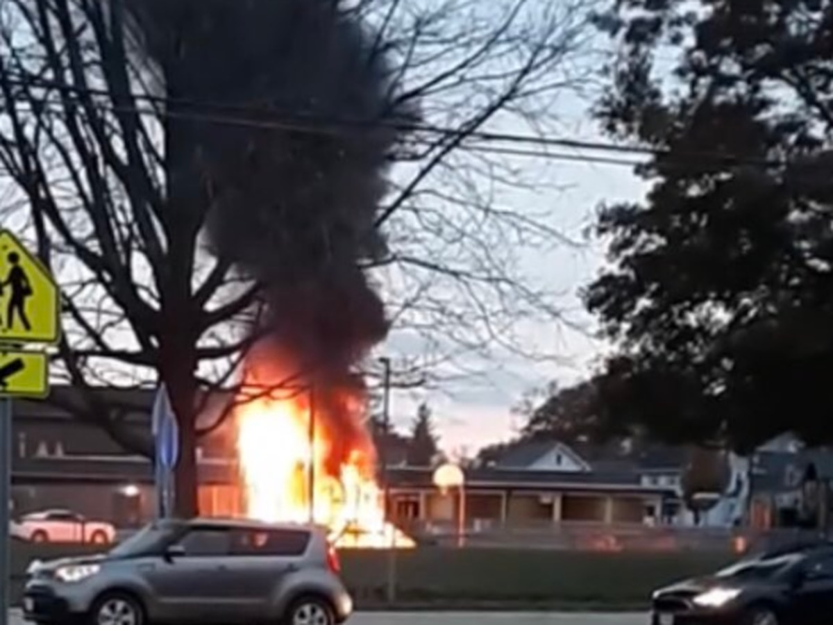 Lorain school playground torched in a.m. blaze; suspects ID'd (photos)