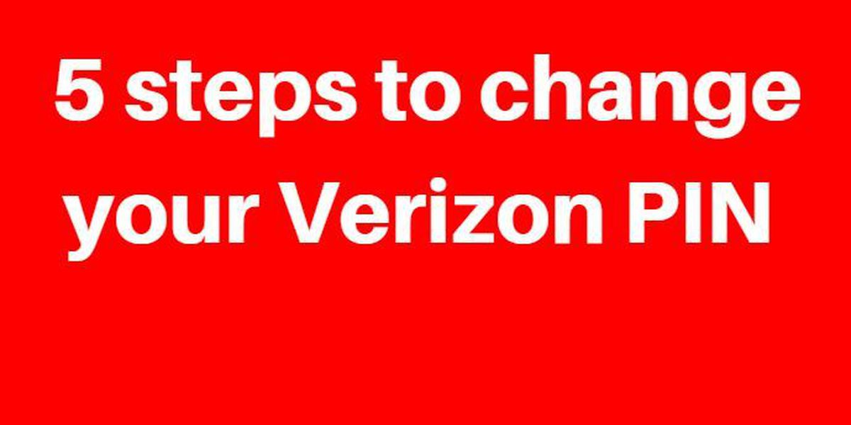 Here's how to change your Verizon PIN after 6 million users' information leaked online