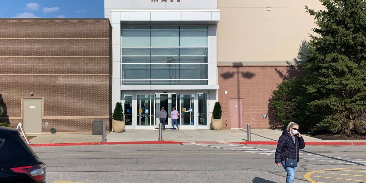 Shoppers flock to Great Northern Mall in North Olmsted on the first day retail stores reopened