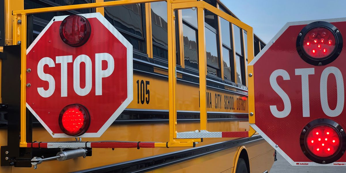 New safety feature on Parma school buses installed to prevent drivers from passing during stops will damage vehicles
