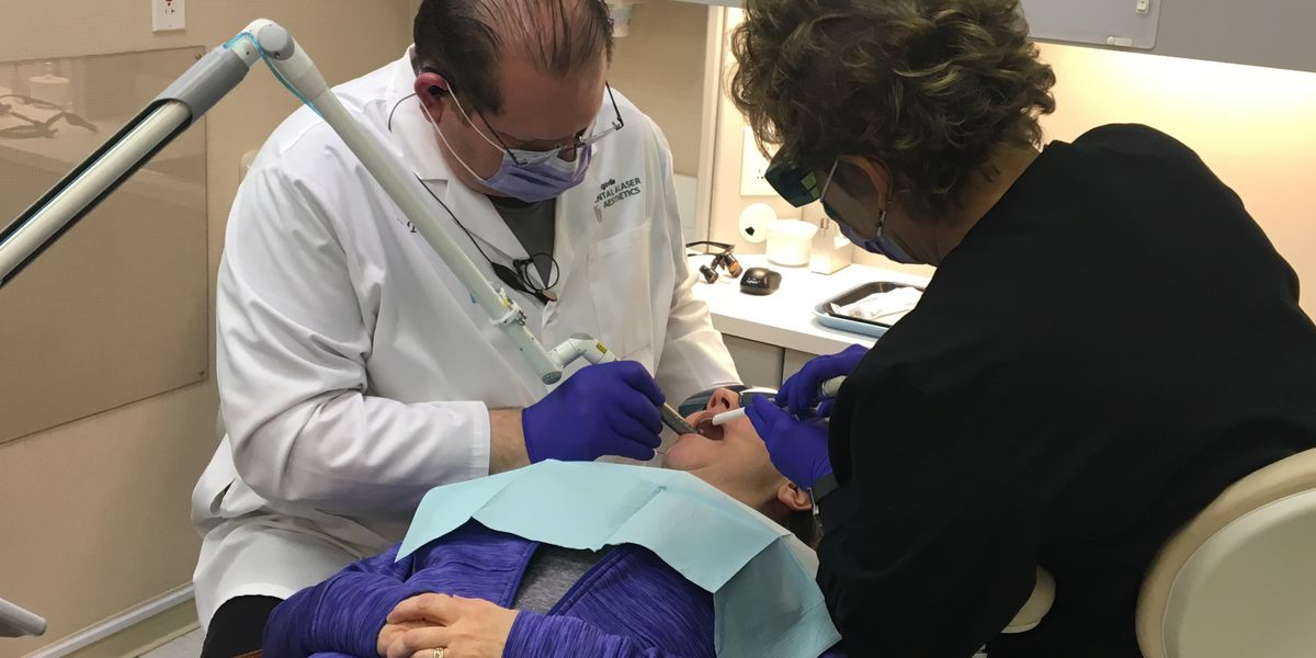 Strongsville dentist's laser treatment providing long-term snoring solution