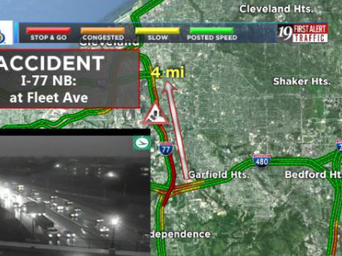 Wet Roads Make For Rough Morning Commute In Northeast Ohio