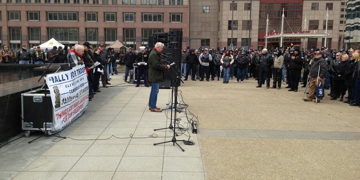 Thousands take part in Rally for Troops in downtown Cleveland