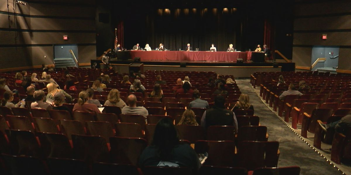 Rocky River parents frustrated with the district's hybrid program attend heated school board meeting