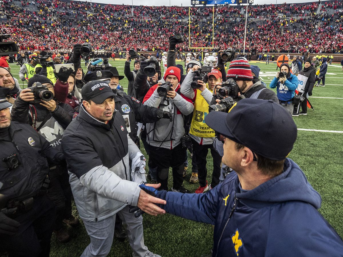 Report: Harbaugh accuses Day of bending practice rules