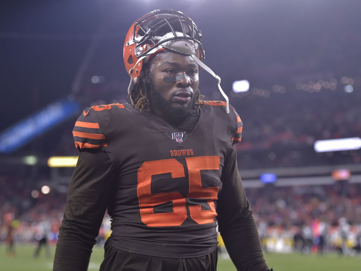NFL upholds one-game suspension for Cleveland Browns DT Larry Ogunjobi