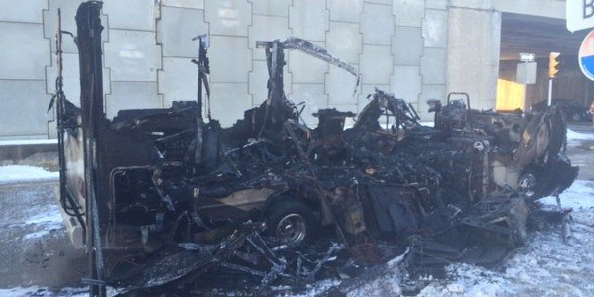 Crews respond to vehicle fire near Hopkins Airport
