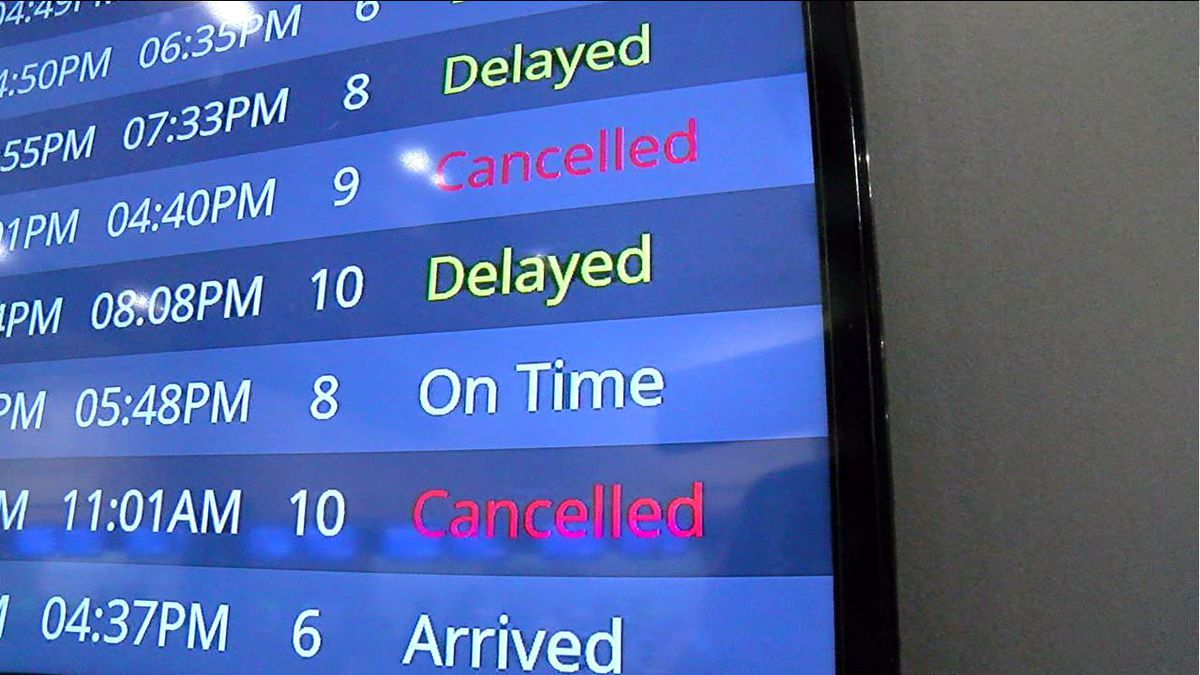 Winter storm already causing cancellations and delays at Cleveland Hopkins International Airport