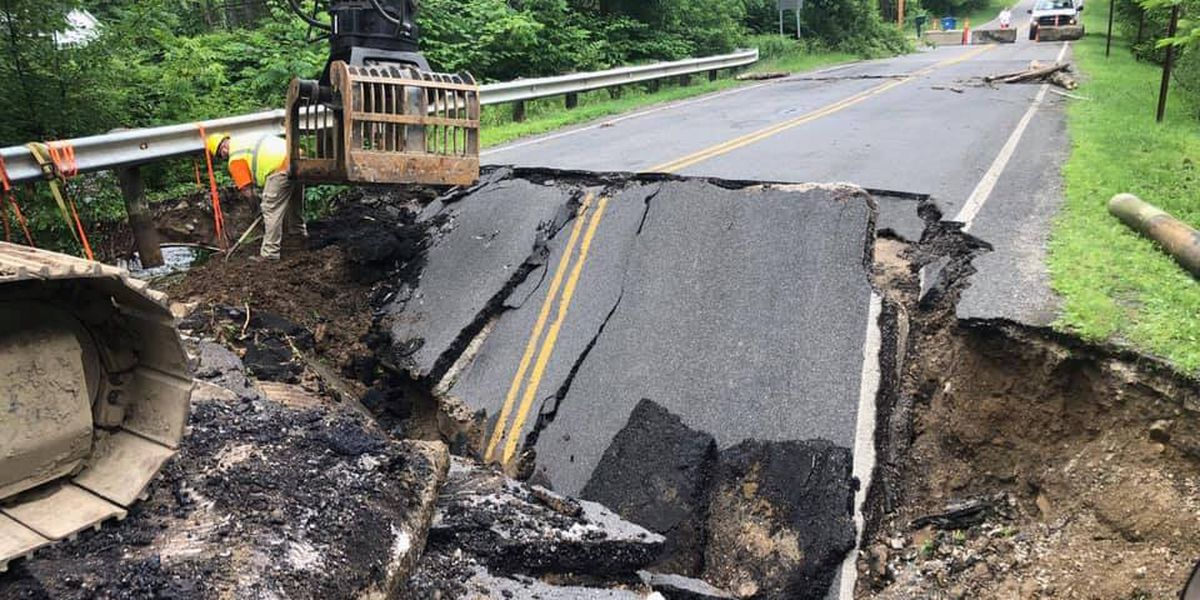 Summit County residents eagerly awaiting solution to washed out roads as more rain moves in