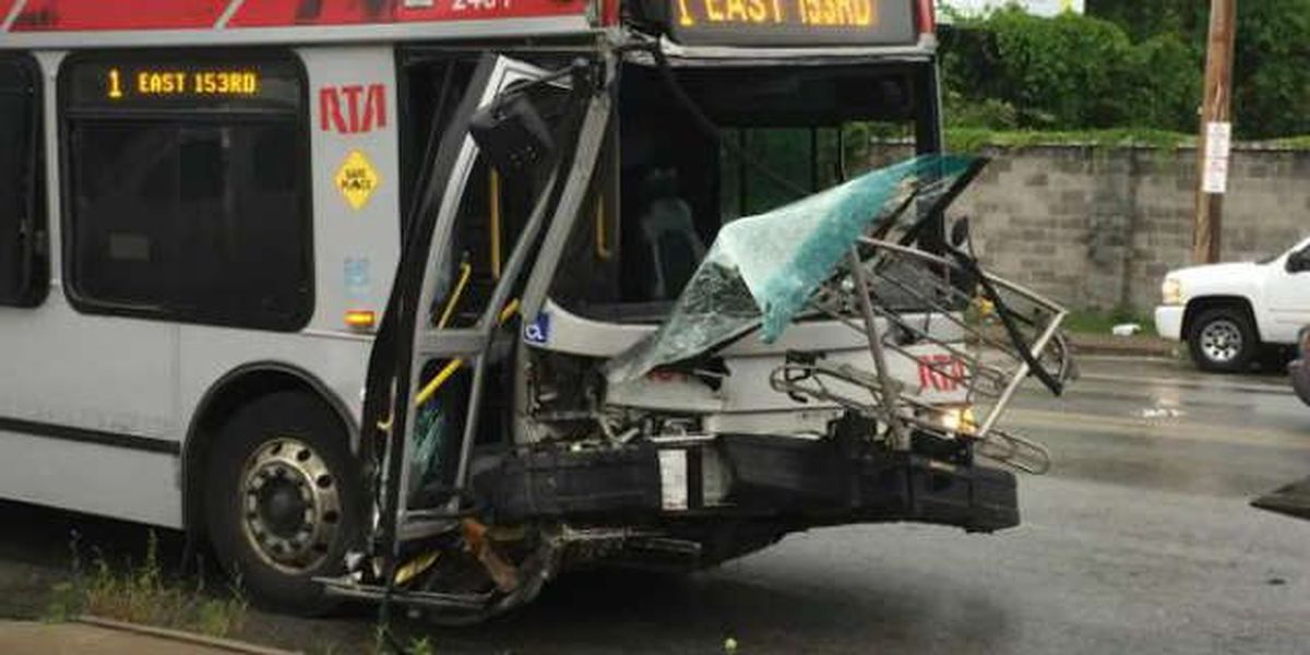 Four injured in RTA bus accident