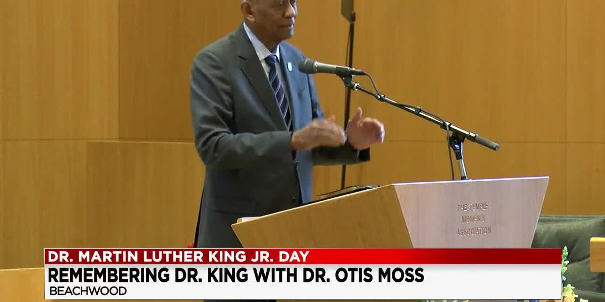 Dr. Moss, MLK's friend and civil rights activist, visits Cleveland;s Maltz Museum