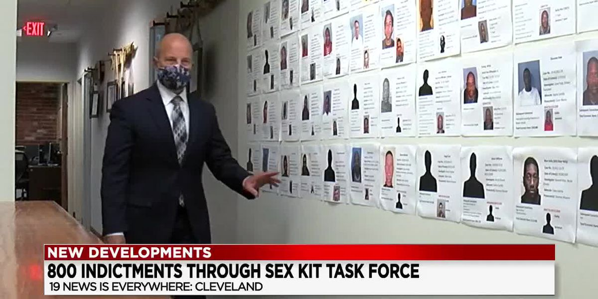 800 indictments through Sexual Assault Kit Task Force