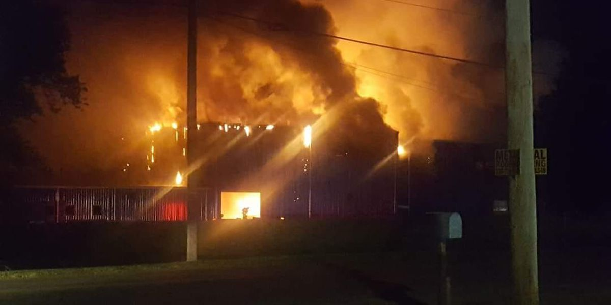 Malfunctioning equipment causes massive Carroll County factory fire, chief says