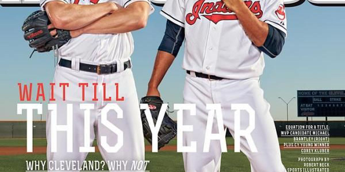 Cleveland Indians make cover of Sports Illustrated