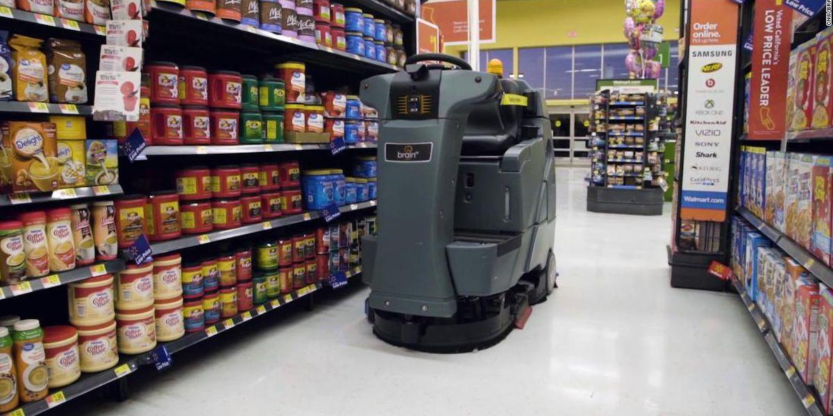 Sunny Side Up: Walmart betting big on robot workforce