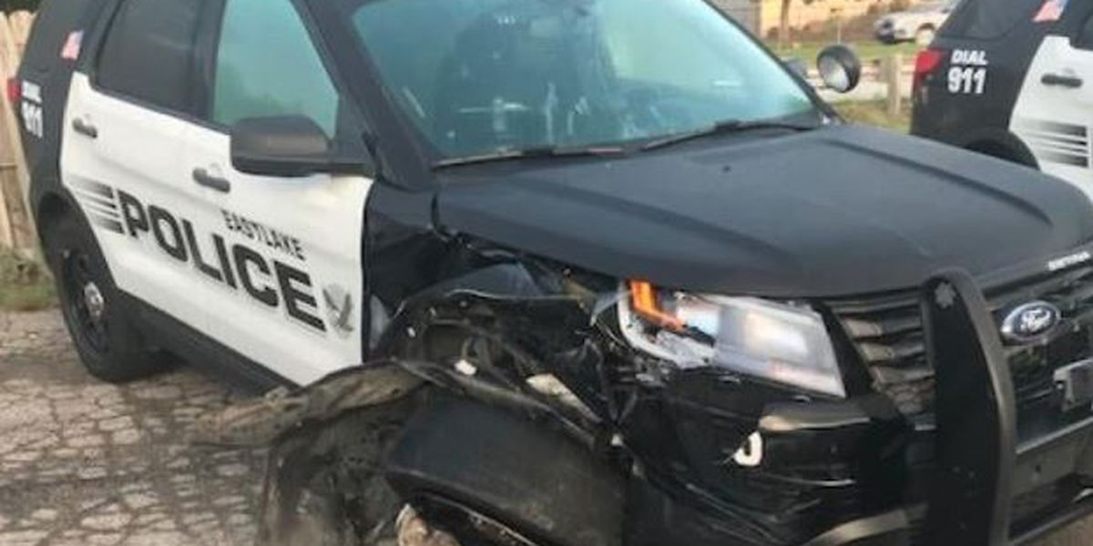 Eastlake police: Suspected drunken driver passes out and rolls car over cruiser