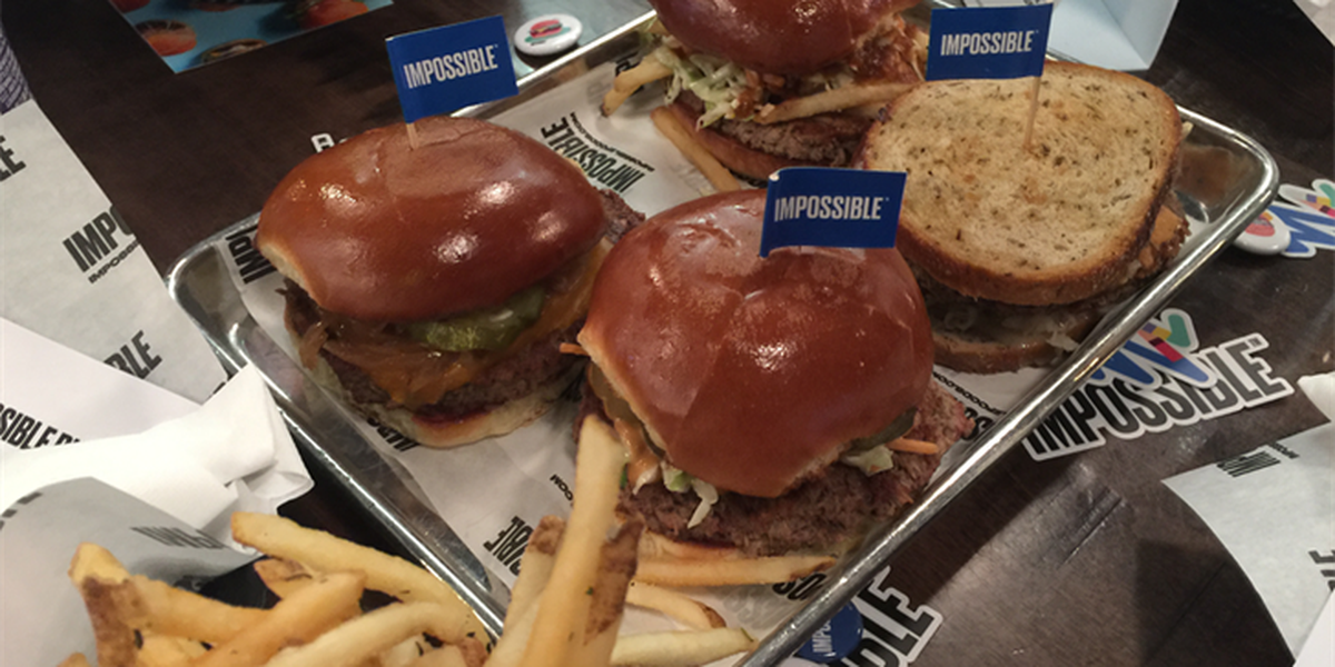 Chef Michael Symon serving 4 new 'Impossible Burgers' at B Spot