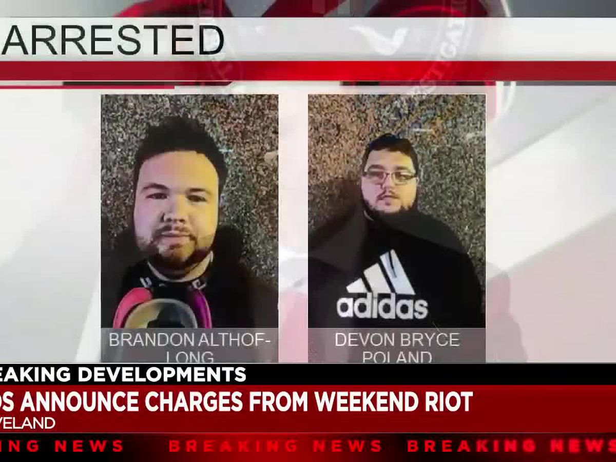 Federal charges filed against 2 Pennsylvania men; task force will continue to investigate civil unrest in Cleveland