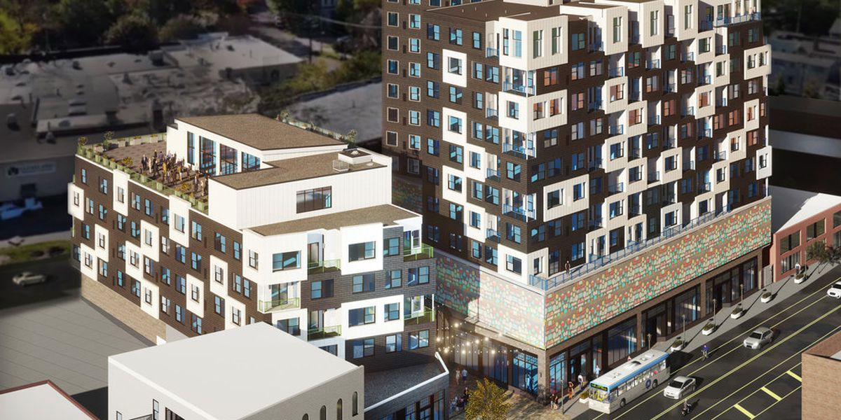 Ohio City's newest $60M massive apartment project breaks ground (Photos)