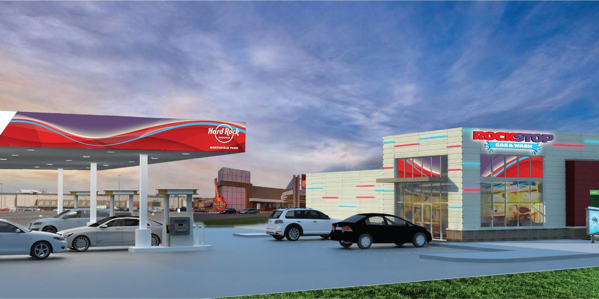 Rocksino plans to open a gas station and car wash