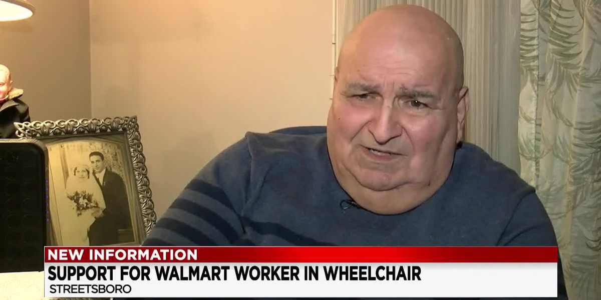Streetsboro man claims he was put on unpaid leave by Walmart because he's in a wheelchair
